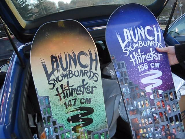 Launch 2013 Snowboards Sneak Peek