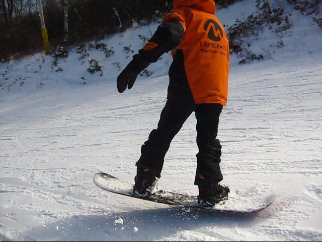 Nose Roll and Tail Roll Snowboard Lesson at Camelback