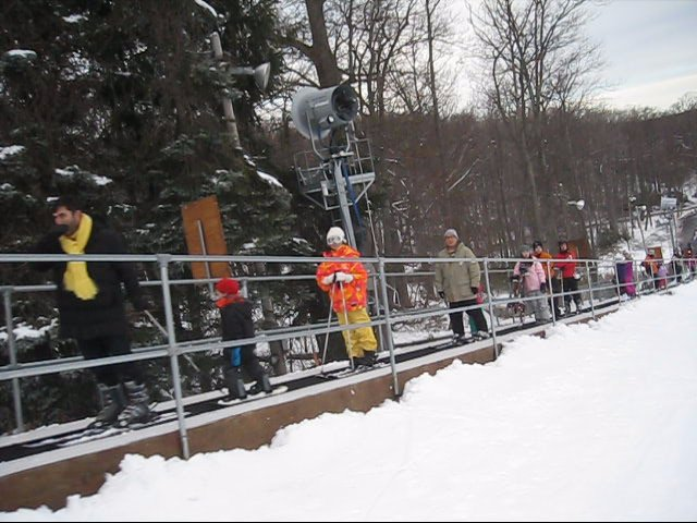 Magic Carpet Ski Lift - Longest! at Camelback Mountain, PA