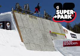 Snowboarder Superpark 15 - Mt Bachelor